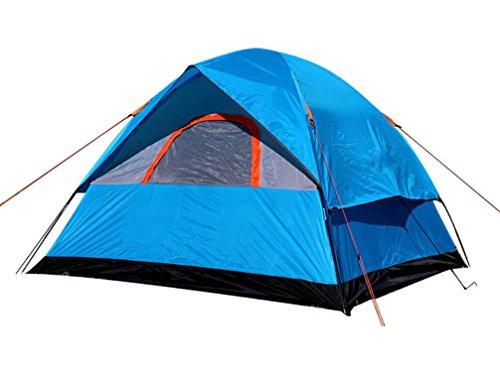 聖なる時代遅れ磨かれた釣り、狩猟の冒険と家族パーティーのための3人の200 * 200 * 130Cm二重層耐候性屋外キャンプテント