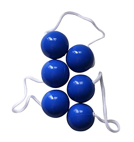 Bolaball Ladderball Ladder Golf Game Replacement Balls, Set of 3, Blue