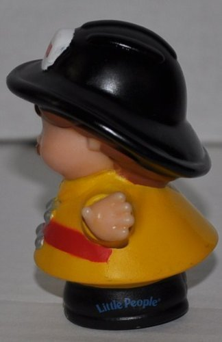Little People Firefighter Fireman Classic Fisher Price Collectible Figures Loose Out Of Package /& Print - Zoo Circus Ark Pet Castle 2002 OOP - Replacement Figure Accessory