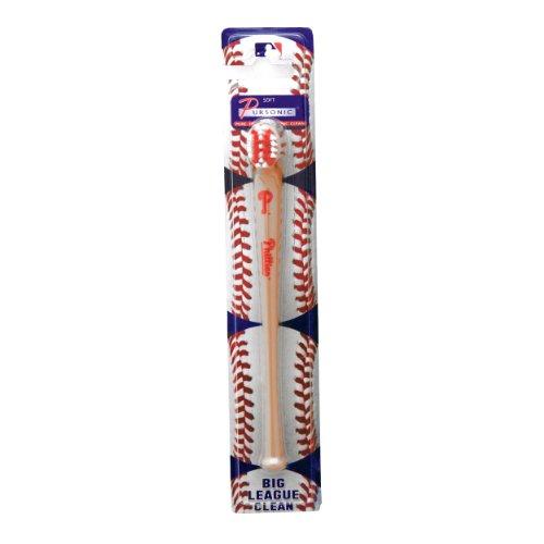 MLB Philadelphia Phillies Pursonic Baseball Bat Toothbrush