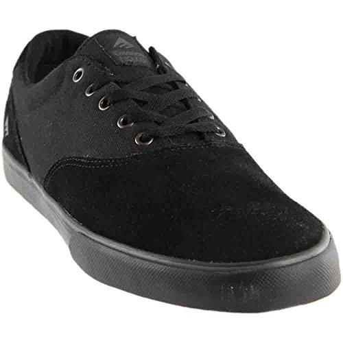 Emerica Provost Slim Vulc Skate Shoe,Black/Black,12