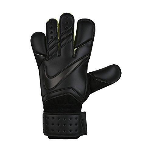 Nike GK Vapor Grip 3 Soccer Goalkeeper Gloves (Sz. 8) Black
