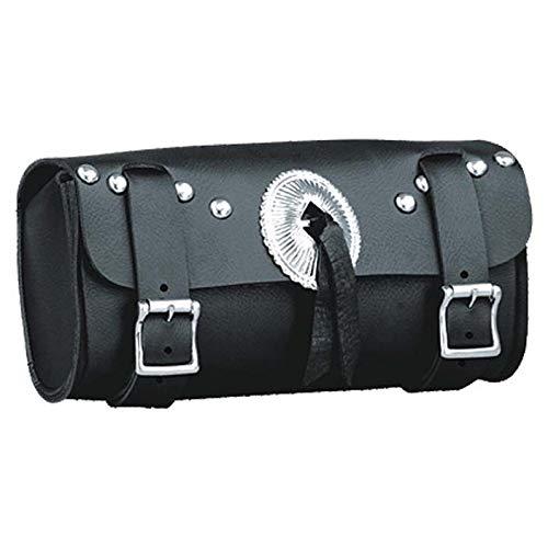 (IKLeather PVC Sissy Buckle Motorcycle Handlebar Windshield Tool Bag 10