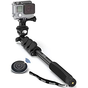 Amazon.com: Smatree Telescoping Selfie Stick with Tripod Stand Compatible for GoPro Hero Fusion 7/6/5/4/3+/3/Session/GOPRO Hero (2018)/Cameras,DJI OSMO Action,Ricoh Theta S/V,Compact Cameras and Cell Phones: Camera & Photo