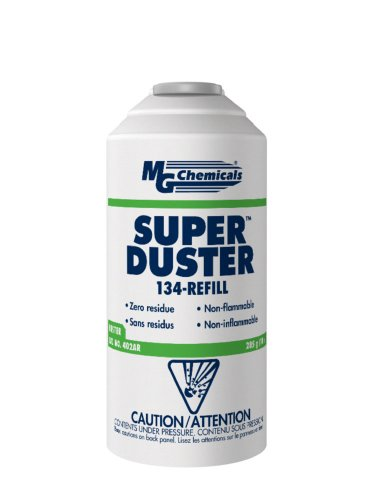 MG Chemicals Super Duster Refill for Trigger Valve, 285g Aerosol Can (Super Duster Non Flammable Spray)