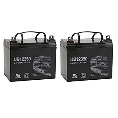 UPG 85980/D5722 Sealed Lead Acid Battery (12V; 35 AH; UB12350) - 2 pack
