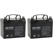 12V 35AH SLA Battery for PW-4X4Q STAIR CLIMBING WHEELCHAIR - 2 Pack