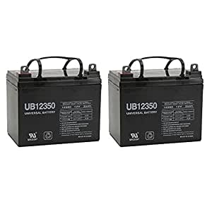 12V 35Ah Revolution Mobility Liberty 312 Power Wheelchair Replacement Battery - 2 Pack