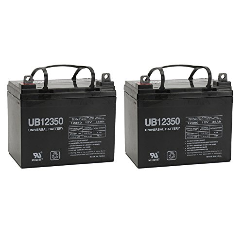12V 35AH Sealed Lead Acid (SLA) Battery for Invacare DART JAGUAR RABBIT - 2 Pack by Universal Power Group