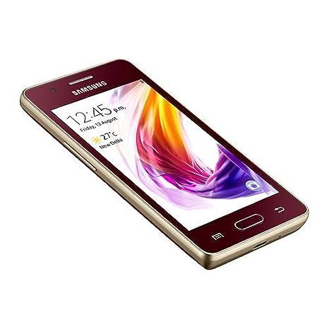 Samsung Z2 Sm Z200f Smart Phone Wine Red Amazon In Electronics