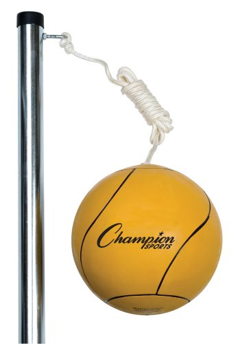 Champion Sports Deluxe Tether Ball - Rubber Deluxe Ball