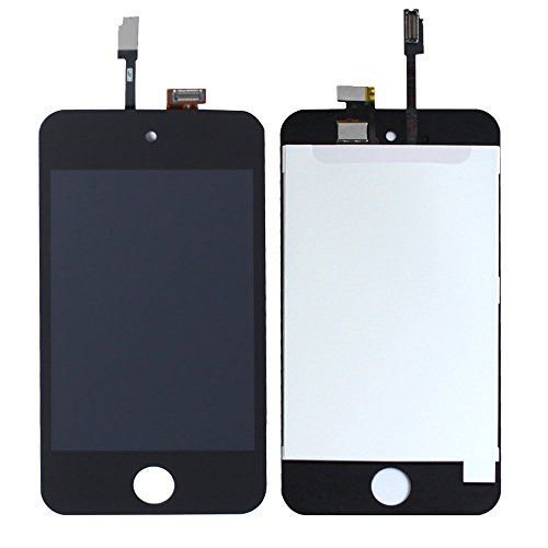 iPod 4 4th Generation Touch Screen Digitizer & LCD Complete Assembly - iTouch Black New - Ipod 4th Generation Screen