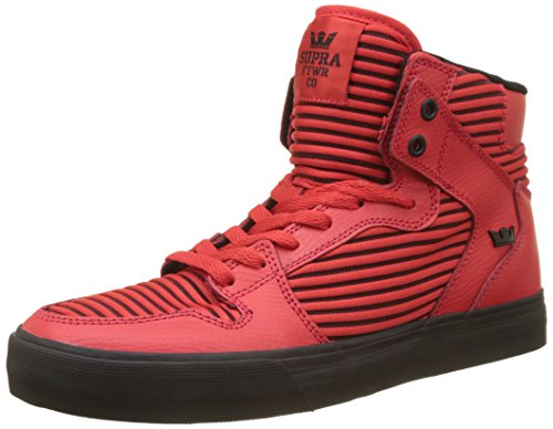 Supra Red Rouge Homme Hautes Vaider black Baskets qfqwP1Zv
