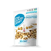 The Good Bean Original Salted Roasted Chickpea Snacks 70 Gram