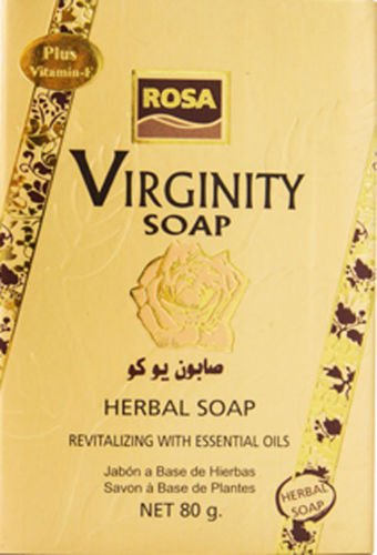 Rosa Virginity Soap Bar Feminine Tighten with gift box (1)