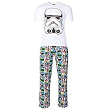 Star Wars Men's Storm Trooper Cotton Pyjama Set (L) Multi