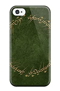 Top Quality Rugged Abstract Green Case Cover For Iphone 4/4s