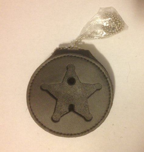 HERO'S PRIDE RECESSED BADGE HOLDER FOR 5 PT STAR (5 Point Star) Badge Not Included