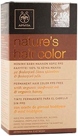 Apivita - Coloración permanente natures hair color: Amazon ...