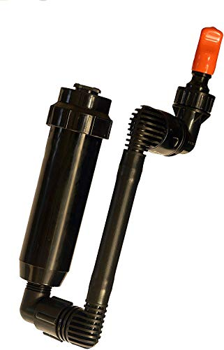 Quick-Snap In-Ground Pop-Up Adjustable Spray, Yard Sprinkler Kit for Small Rectangular Coverage (Side Spray)