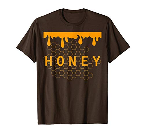 Jar of Honey Costume T-Shirt Honeypot For Halloween -