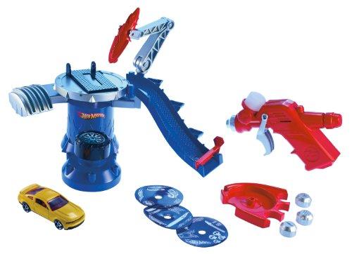 Hot Wheels Light Speeders Light Brush Lab Playset (Light Wheels Hot)