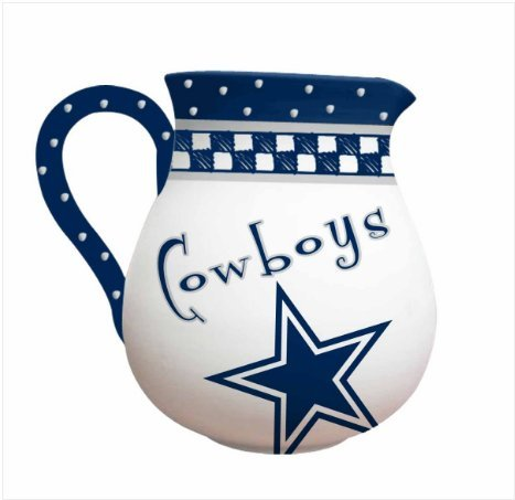 Memory Company NFL Dallas Cowboys Game Day Ceramic Pitcher ()