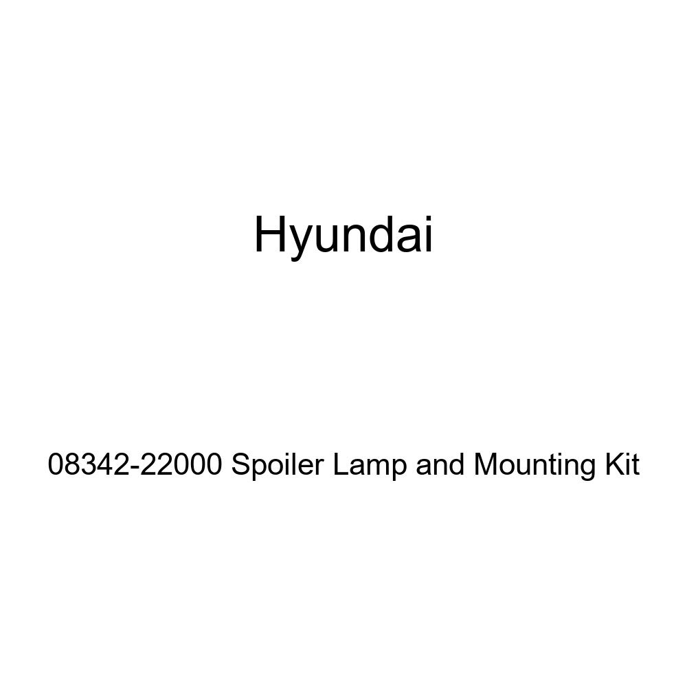 Genuine Hyundai 08342-22000 Spoiler Lamp and Mounting Kit