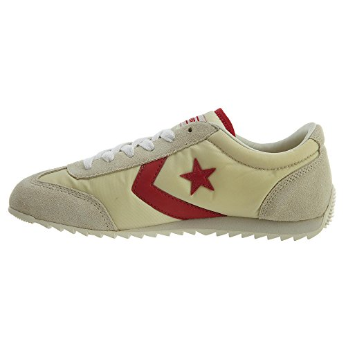 Converse Nylon Trainer Unisex Off White/Red Izlc0wFNV