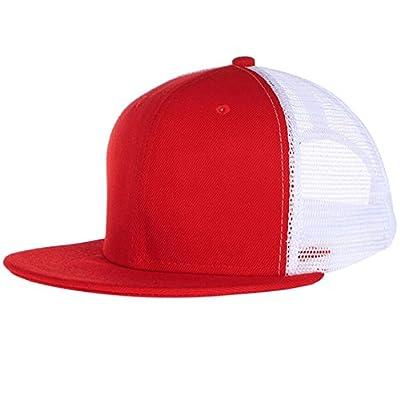 Mznwpm La Mode Des Chapeaux Camouflage Blanc Occasionnel Réglable Maille Hip - Hop Casquettes De Base - Ball Pour Les Hommes