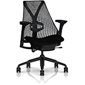 Herman Miller Sayl Task Chair: Tilt Limiter with Seat Angle Adjustment - Adj Lumbar Support - Adj Seat Depth -...