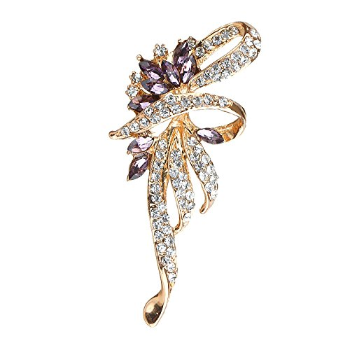 2018 high-end jewelry Regency Crystal brooch brooch chest notes exquisite jewelry female New (Regency Jewelry)