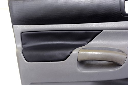 Toyota Door Skins - Fits 2005-2015 Toyota Tacoma Synthetic Black Leather Door Panel Armrest . (Skin Only)