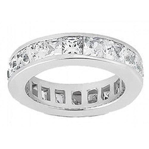Ladies' 3.50 ct. TW Princess Cut Diamond Eternity Channel Set Wedding Band Ct Tw Princess Diamonds Band
