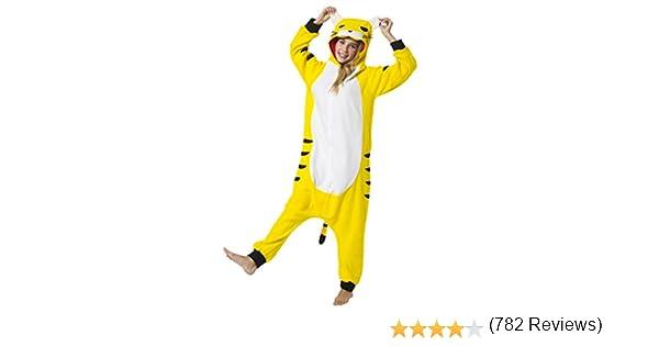 Katara (10+ Modelos) Kigurumi Pijamas Disfraz Animal Halloween Adultos Tigre Talla 175-185cm , color/modelo surtido: Amazon.es: Juguetes y juegos
