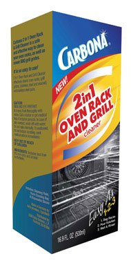 Carbona 2-In-1 Oven Rack And Grill Cleaner Bagged 16.9 Oz by Vill Beauty
