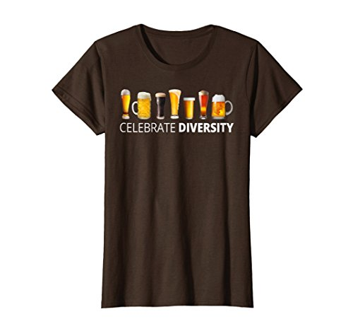 Mens Celebrate Beer Diversity Craft Drinking T-shirt Gift