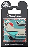 #5: Disney Pin - Framed - Fly Me to the Disney Parks