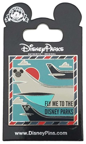 Disney Pin - Framed - Fly Me to the Disney Parks