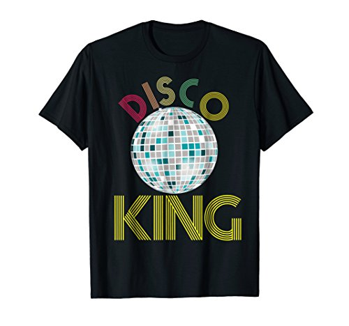 Mens Disco King Shirt 1970s Retro Party 70s Halloween Costume ()