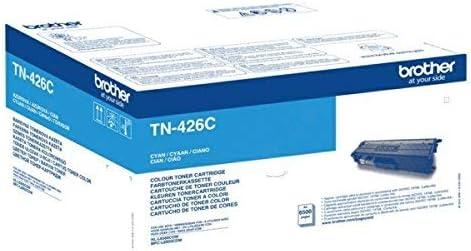 Brother Original Super Jumbo Tonerkassette Tn 426c Cyan Für Brother Hl L8360cdw Mfc L8900cdw 6500 Seiten Bürobedarf Schreibwaren