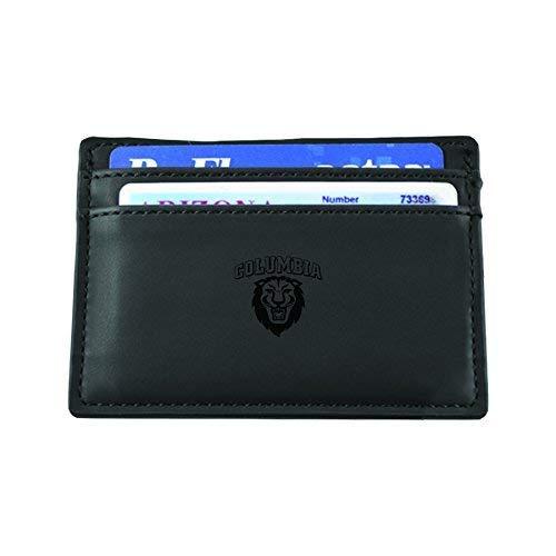 Columbia University-European Money Clip Wallet-Black
