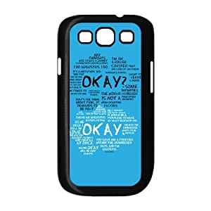 John Green The Fault in Our Stars Quotes Phone Case for Samsung Galaxy S3