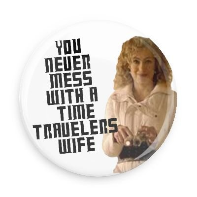 Doctor Who Time Travelers Wife 3.0 Inch Fridge Magnet