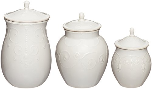 Lenox French Perle Canisters White product image