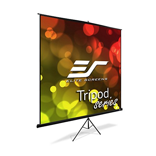 Elite Screens Tripod Series, 170-INCH 1:1, Large Venue Portable Pull Up Projection/Projector Screen, 4K / 8K Ultra HD Active 3D...
