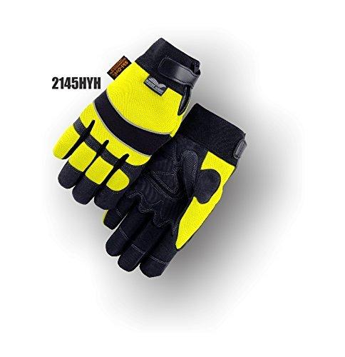 手袋、マジェスティック2145hyhモデル、イエロー、XLarge、冬Weatherグローブ – 1各 B00AO821LE