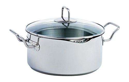 Norpro KRONA 5 Quart Vented Pot with Straining Lid