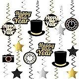 Happy New Year Hanging Swirls – Pack of 33 | New