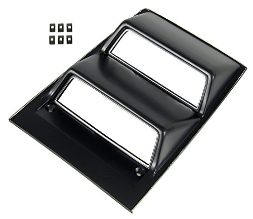 - Auto Metal Direct Console Gauge Bezel with Chrome Trim - 68-69 Camaro